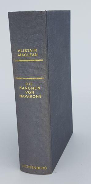 Die Kanonen von Navarone - Roman - Printed in Germany 1964 - Alistair Maclean