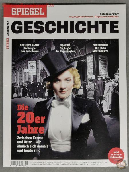 Spiegel Geschichte, Die 20er Jahre, Zwischen Exzess und Krise, 01/2020, Zeitschrift