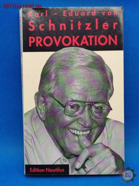 Buch: Provokation, Karl-Eduard von Schnitzler