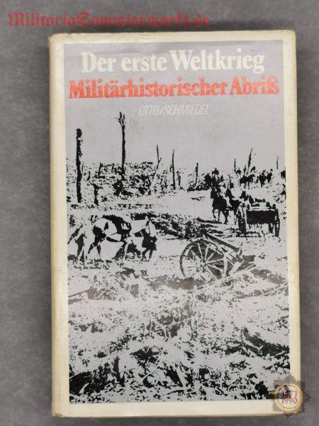 Der erste Weltkrieg, Militärhistorischer Abriss, Buch