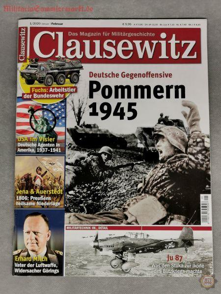 Clausewitz, Das Magazin für Militärgeschichte; 01/2020, Zeitschrift
