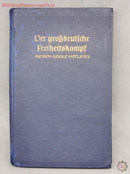 Der großdeutsche Freiheitskampf, Reden Adolf Hitlers, 1940, Buch