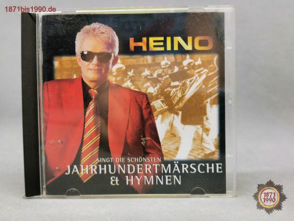 CD, HEINO singt die schönsten Jahrhundertmärsche und Hymnen; BMG ariola