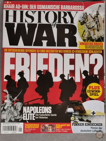 History of War, Jan./Feb. 01/2019; Zeitschrift
