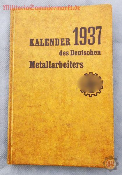 Kalender des Deutschen Metallarbeiters 1937, Büchlein