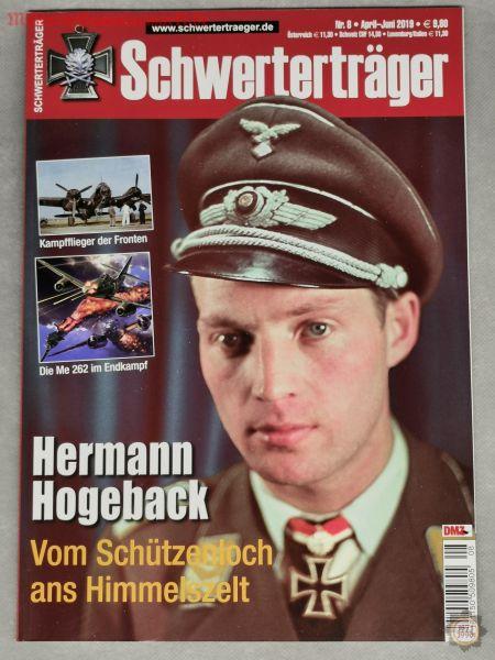Schwerterträger, Hermann Hogeback, Vom Schützenloch ans Himmelszelt, Zeitschrift Nr. 8, Apr.-Juni 20